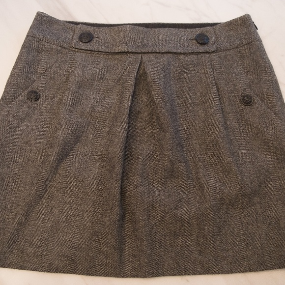 Banana Republic Tweed Mini Skirt